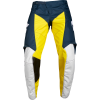 WHIT3 LABEL GP LE PANT [NVY/YLW]