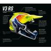 V3 RS WIRED HELMET [FLO YLW]