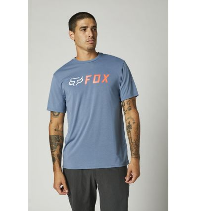 FOX APEX SS TECH TEE [MT BLU]