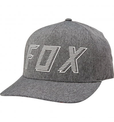 BARRED FLEXFIT HAT [DRK GRY]