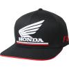 FOX HONDA FLEXFIT HAT [BLK]
