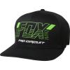 FOX PRO CIRCUIT FLEXFIT HAT [BLK]