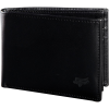 BIFOLD LEATHER WALLET [BLK]