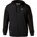 PIVOT ZIP FLEECE [HTR BLK]